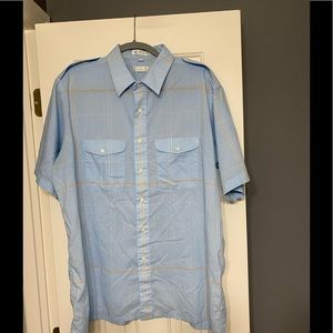 Christian Dior designer button down shirt XL